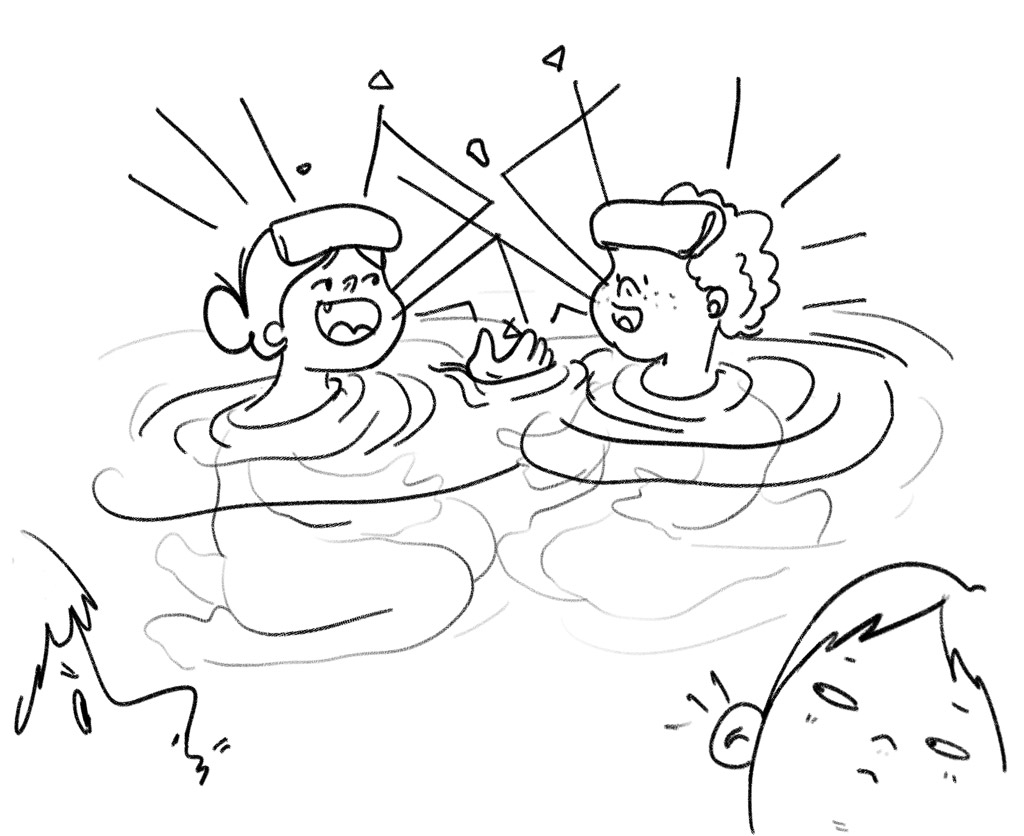 Keep your voices down in the onsen